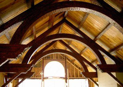 Large decorative trusses