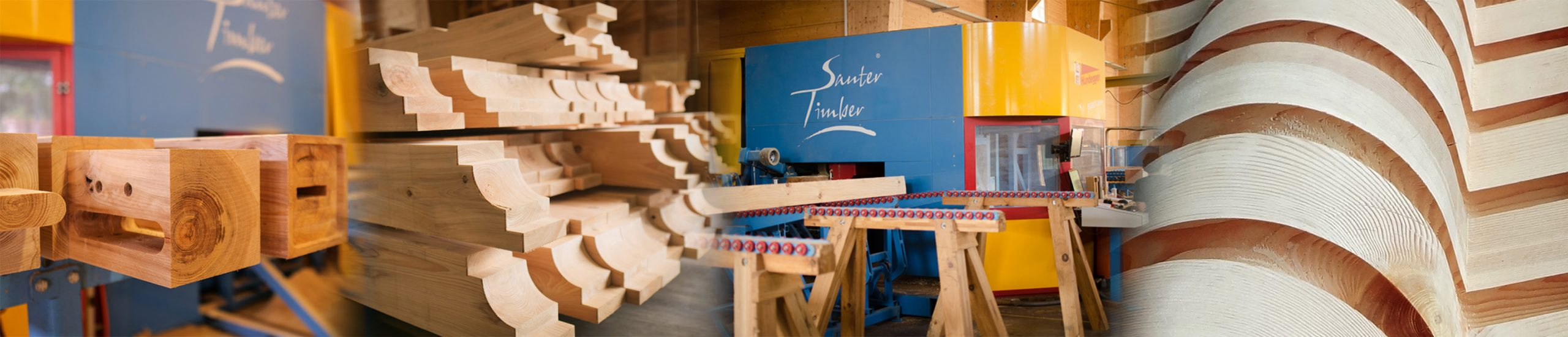 Timber Frame Wood Compontents | Precision Precut | Sauter Timber
